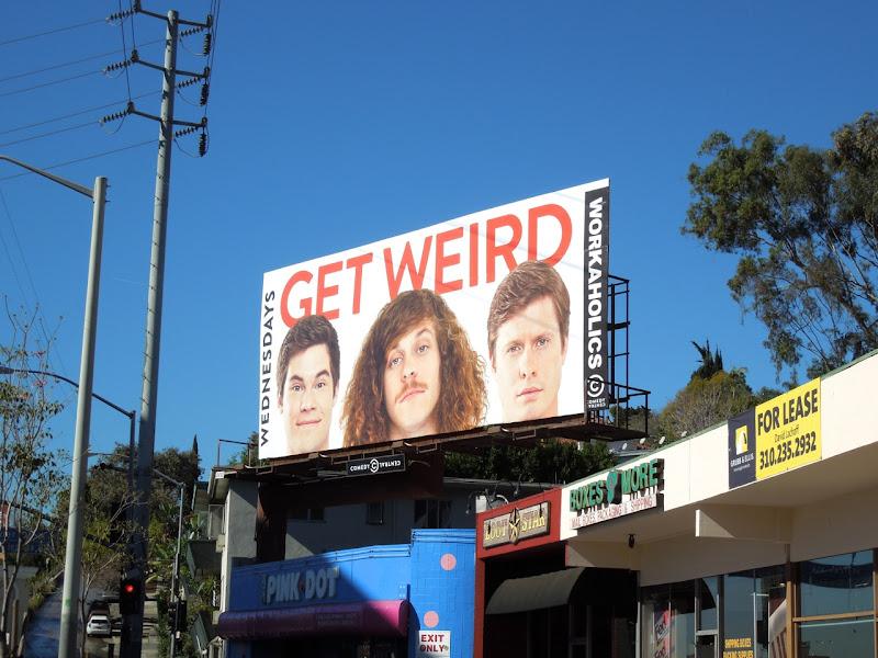 Workaholics midseason 3 Comedy Central billboard