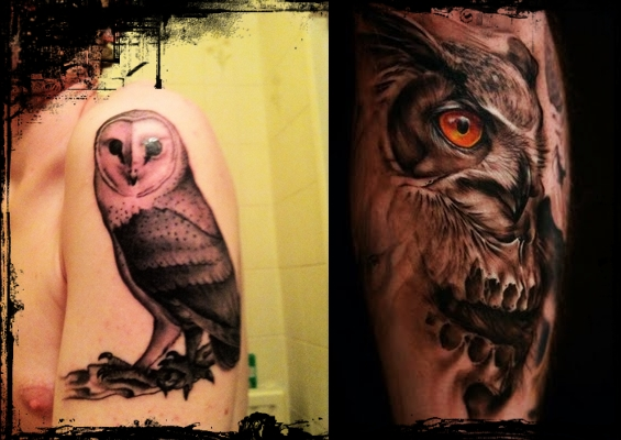 16 COOL OWL TATTOOS FOR MEN ~ Everything About Tattoos