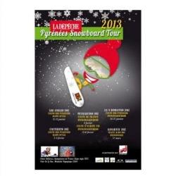 Pyrénées snowboard Tour 2013 : épreuve de snowboardcross ax 3 domaines