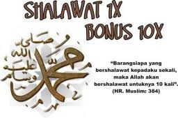 hukum shalawat, wajib, sunnah, arti shalawat, pahala shalawat
