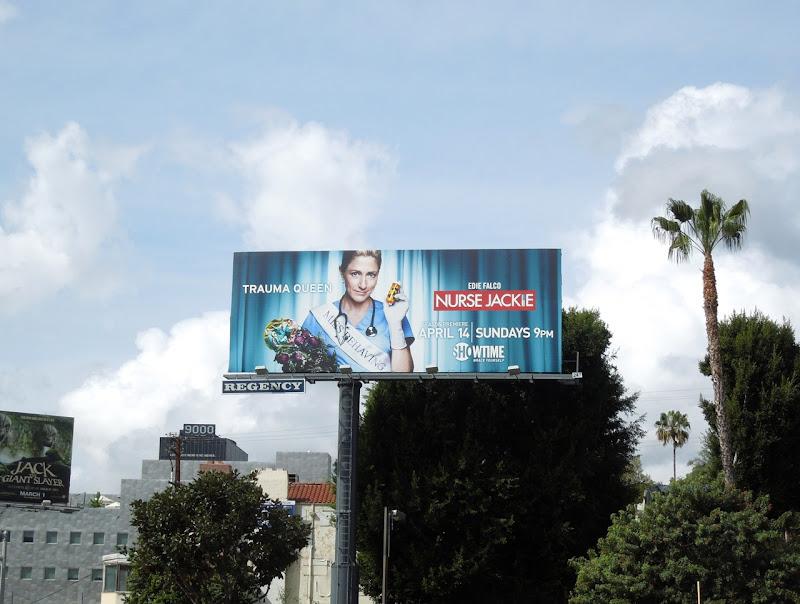 Nurse Jackie season 5 billboard