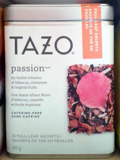 Tazo passion tea starbucks