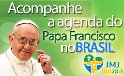 Visita do papa ao Brasil terá programação intensa; veja agenda