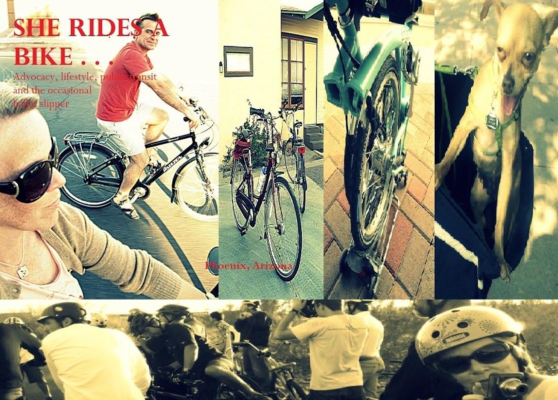 She Rides a Bike