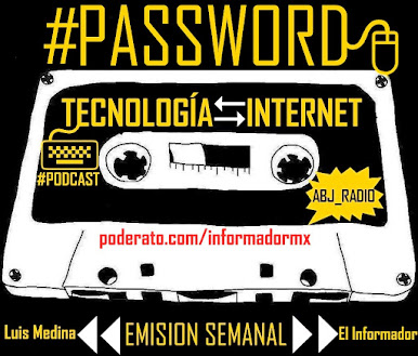 [#PASSWORD: Tecnología e Internet]