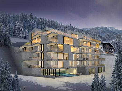 Luxury vacation homes schooren des alpes alpine mountain modern house plans designs 2014 - Alpine vacation houses ...