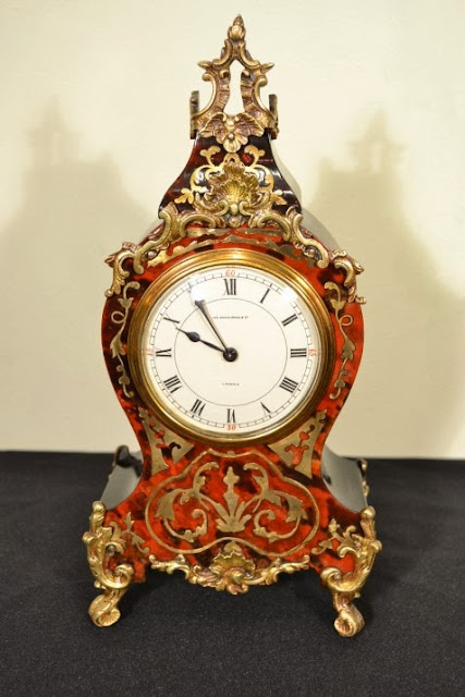 French Boulle clock which dates from around 1900