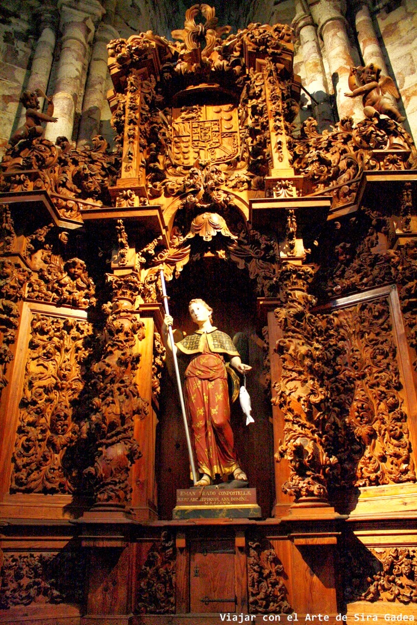 Retablo san Rafael catedral Ávila