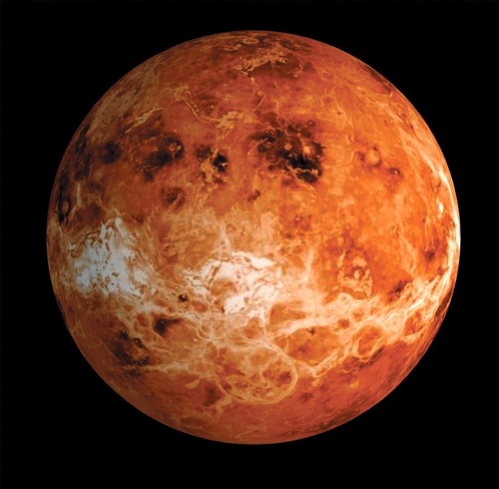 Venüs' ün Yüzeyi ve Kraterleri