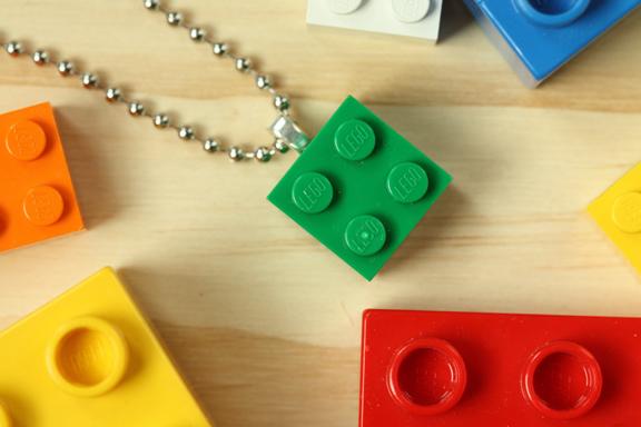 Collana con Riciclo Creativo Mattoncini Lego