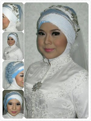 KREASI JILBAB PENGANTIN AQAD NIKAH - Just another WordPress site