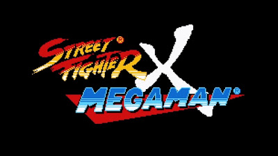 Street Fighter X Mega Man Logo - We Know Gamers