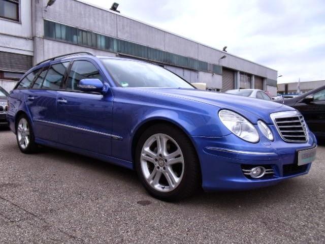 2008 mercedes benz s211 blue designo