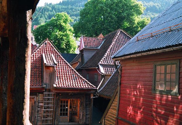 Wooden houses of Bryggen