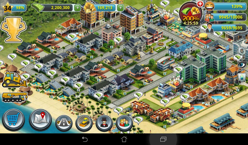 ANDROID APK & GAME: City Island 3 Mod Unlimited Money And Gold