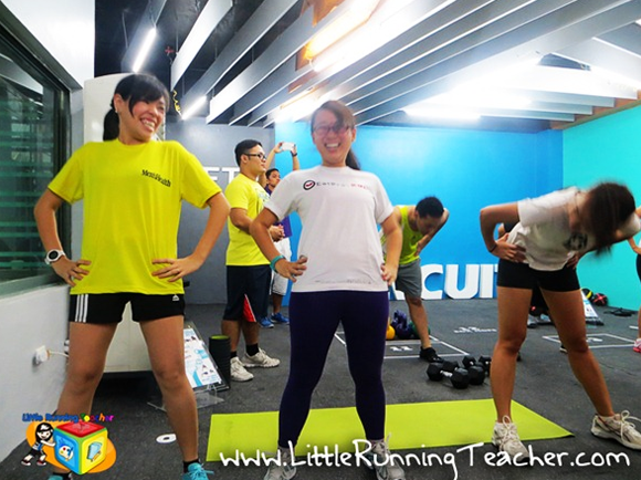 I am Aileen - 360 Fitness Club Quezon City Warm Up Circuit Challenge