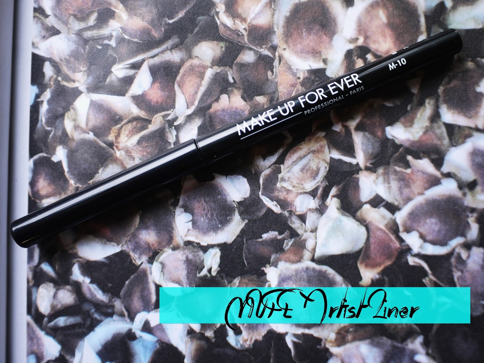 Make Up For Ever Artist Liner M-10 swatch review m10