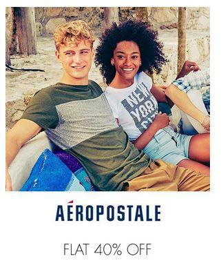 AeroPostale (Flat 40% Off)