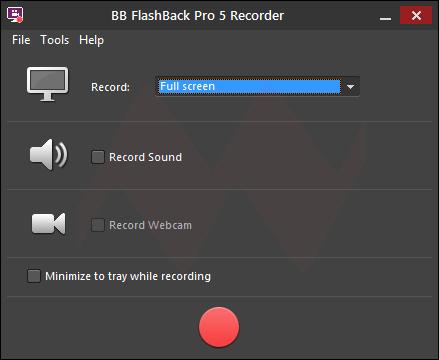 BB FlashBack Pro 5