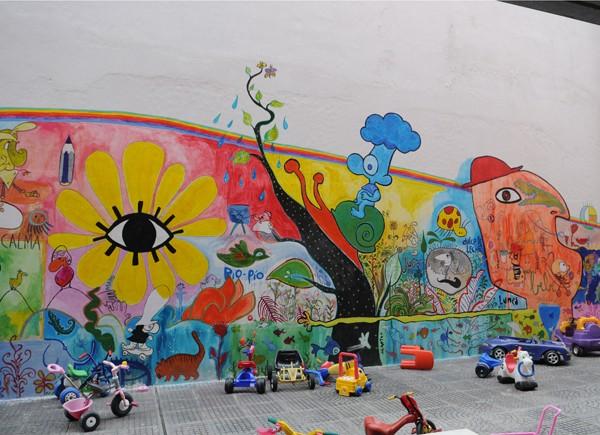 Yo me lo guiso otra vez los graffitis for Graffitis y murales callejeros