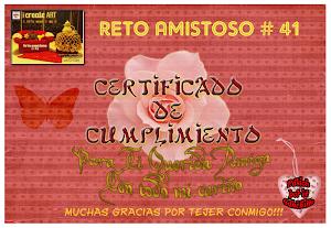 Certificado Reto 41