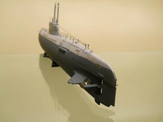 kit de revell del submarino XXI