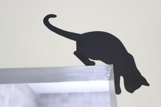 Adesivo Porta De Banheiro ~ Two Bee [DIY] Adesivo de parede!