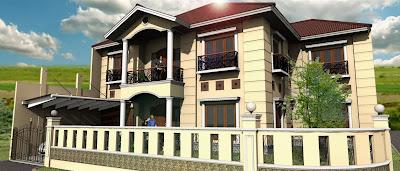 Desain Rumah Model Klasik