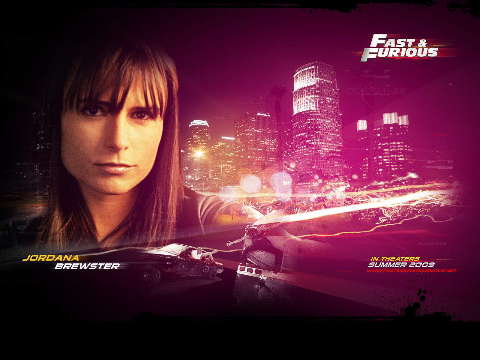 wallpaper HD jordana brewster fast and furious 7
