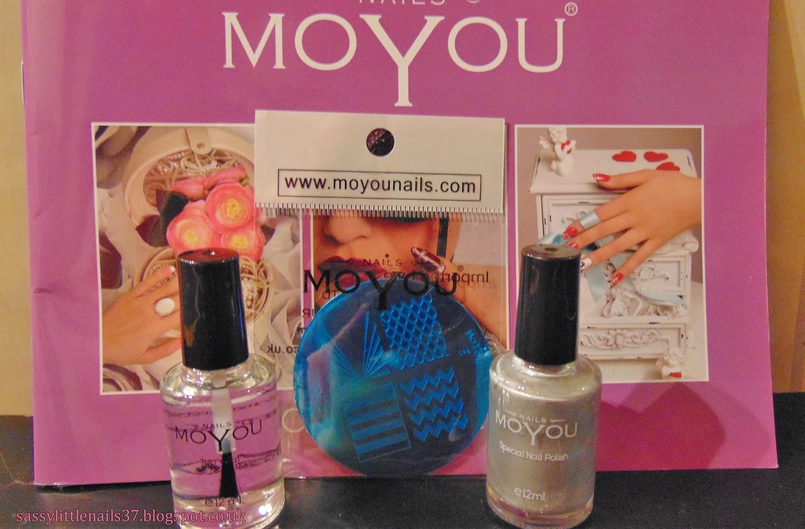 Sassylittlenails Moyou Nails Stamping Plate Polish Review