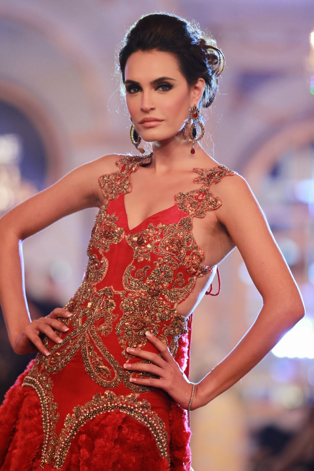 Pakistani Bridal Fashion's other fashion week – all the pictures from Day 1 of Pantene Bridal ...