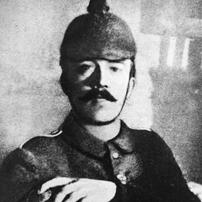 Adolf Hitler menjadi tentara dalam PD I