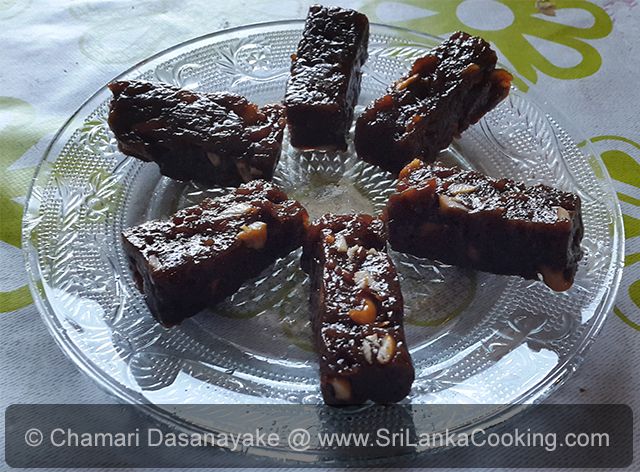Sri lanka cooking making kalu dodol in microwave in less than 40 minutes a sri lankan sweet forumfinder Choice Image