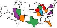 States I've Run In