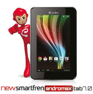 New Smartfren Andromax Tab 7.0, Tablet Android Jelly Bean Harga Murah
