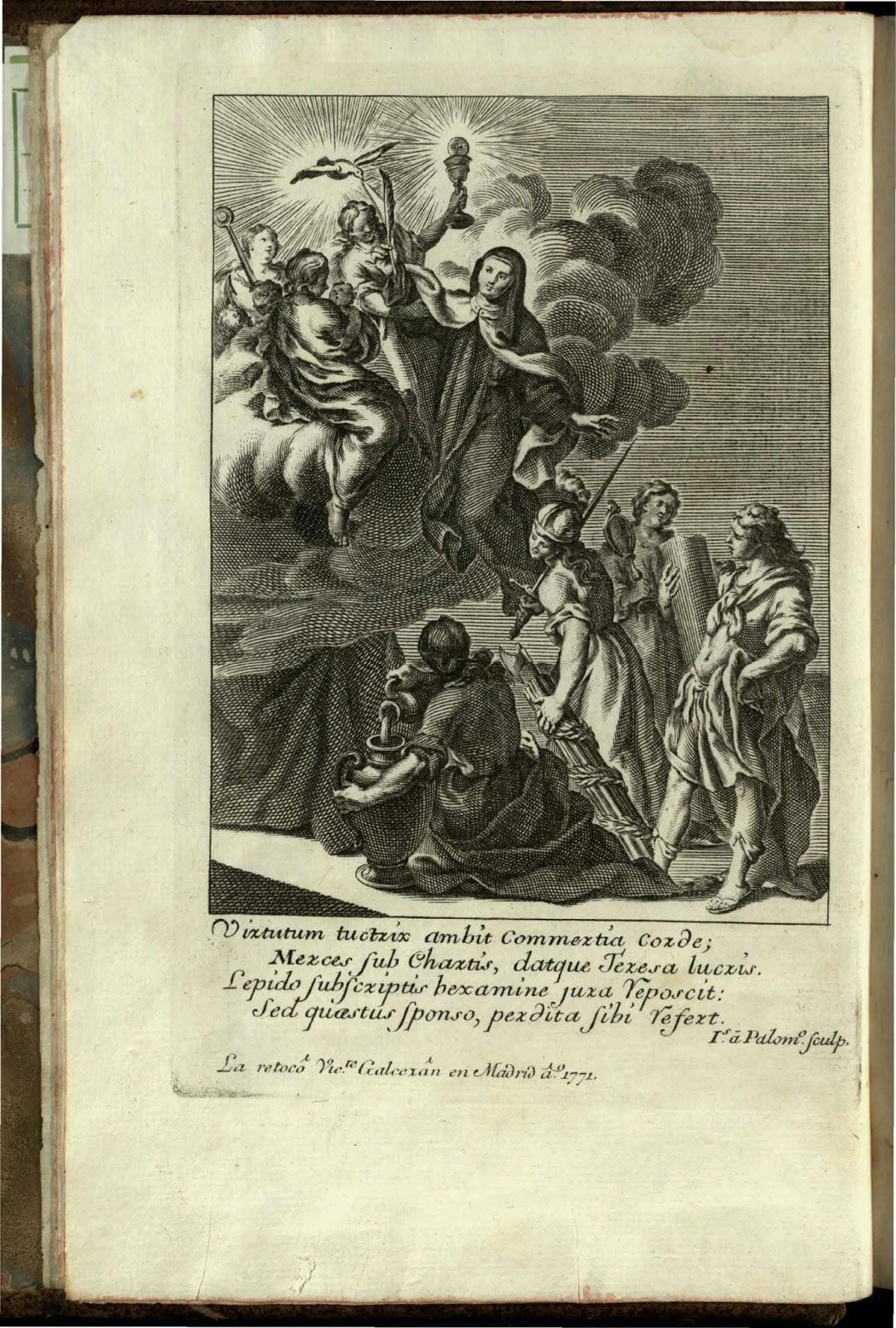 """Cartas de Santa Teresa de Jesús / con notas del... Sr. D. Juan  de Palafox y Mendoza, Obispo de Osma. [tomo I]"" - Teresa de Jesús,  Santa (1515-1582):"