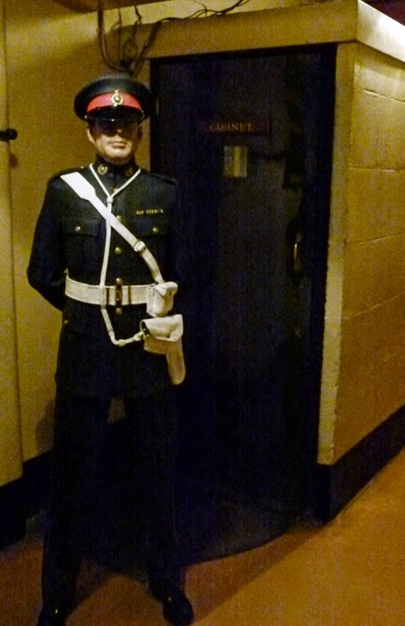 Cabinet War Rooms, Churchill, underground, London, museums