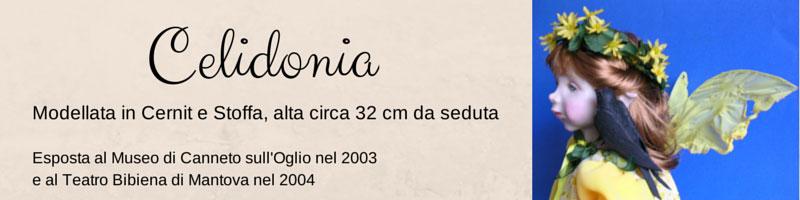 Fata Celidonia by Daniela Messina - ooak in pasta sintetica