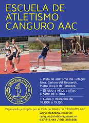 Escuela de Atletismo Club Canguro AAC 2016/17