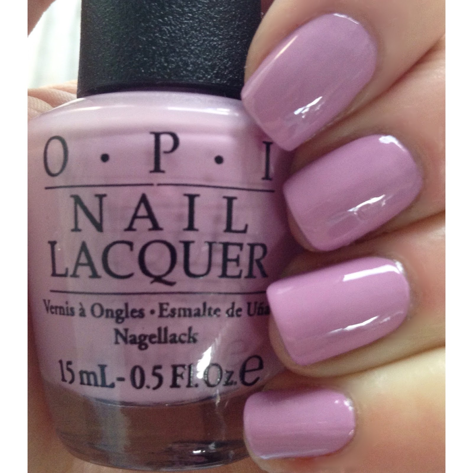 Light Pink Purple Nail Polish: Don's Nail OBSESSION!: OPI VENICE COLLECTION