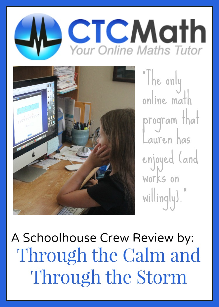 Through the Calm and Through the Storm: CTC Math {Schoolhouse Crew ...