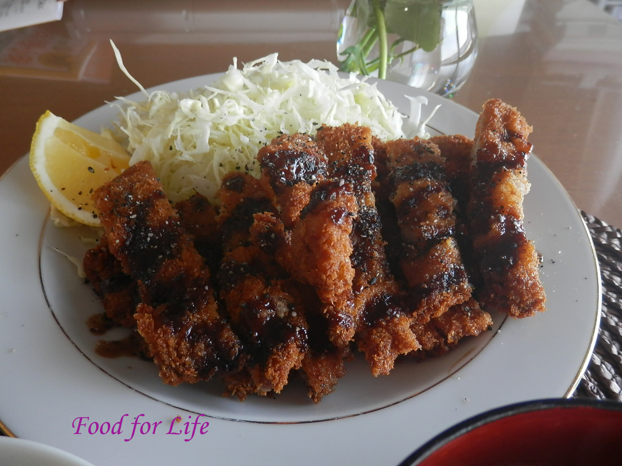 Food for Life: Tonkatsu (Japanese Pork Cutlet)