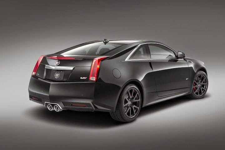 The Cadillac unveiled the CTS-V Coupe MY2015 Photos
