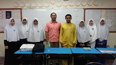 Ceramah Sains PT3 di SMA Hira, Seksyen 26, Shah Alam