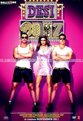 Deepika Padukone with Desi Boyz
