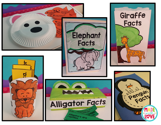 https://www.teacherspayteachers.com/Product/Animal-Report-Craftivities-2112725