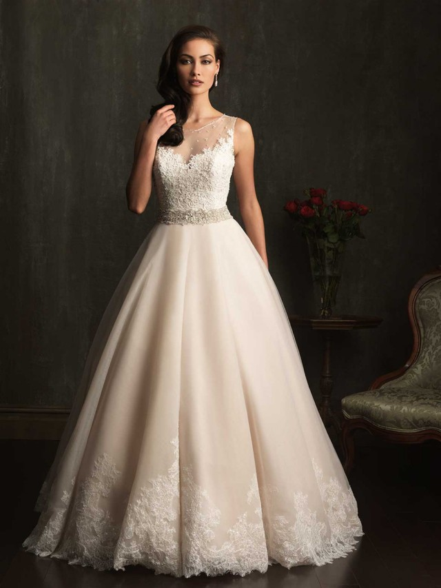 Fashioncollectiontrend 2014 Allure Wedding Dresses 2014 Allure Bridal Fashions 2014 Allure