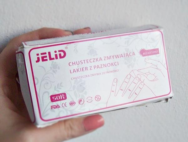 TEST - Jelid, chusteczki zmywające lakier z paznokci