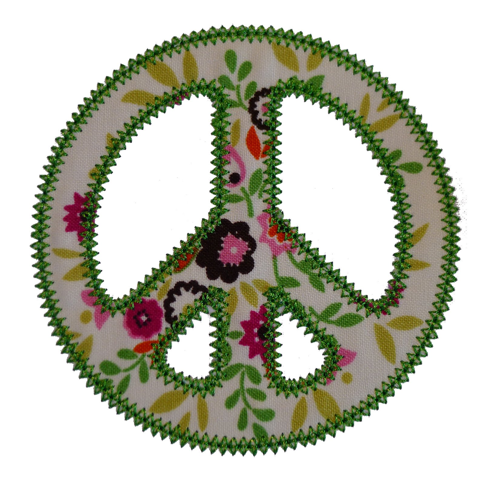 big dreams embroidery peace sign machine embroidery applique design pattern. Black Bedroom Furniture Sets. Home Design Ideas