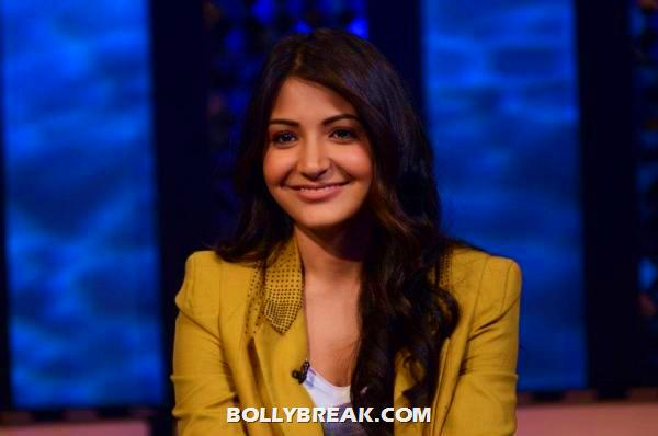 anushka sharma close up -  Anushka Sharma on The Front Row With Anupama Chopra